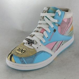 REEBOK x Hasbro MONOPOLY Edition High Top Sneakers